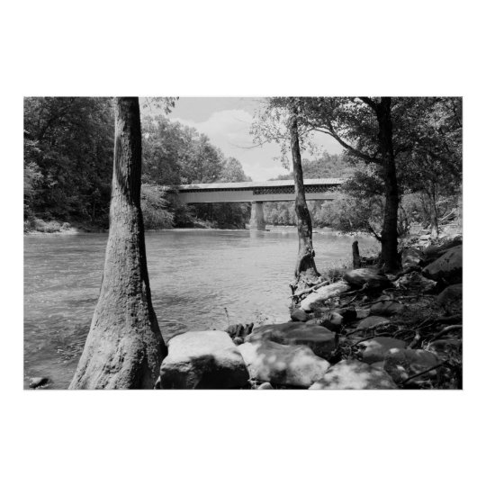 Swann Bridge Poster