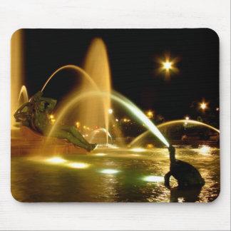 Swann Fountain (Delaware Side) Mousepad