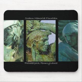 Swann Fountain Trio Mousepad
