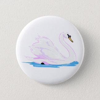 Swanna Swan Pinback Button