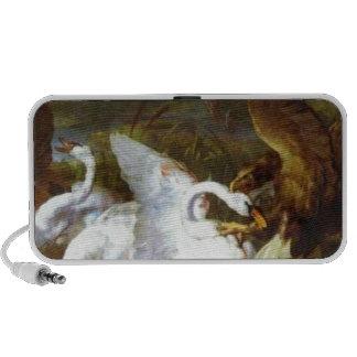 Swannery invadido por Eagles de Edwin Henry iPod Altavoces
