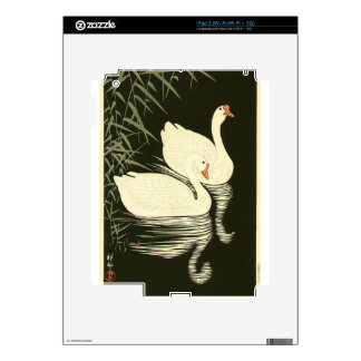Swans and Reeds Skin For The iPad 2