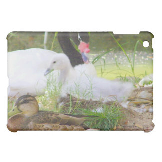 Swans and the Duck_ iPad Mini Covers