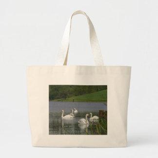 Swans Animal Jumbo Tote Bag