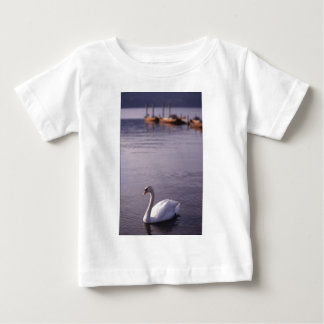 Swans at Lake Windermere in The Lake District Baby T-Shirt
