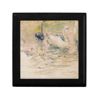 Swans by Berthe Morisot Jewelry Box