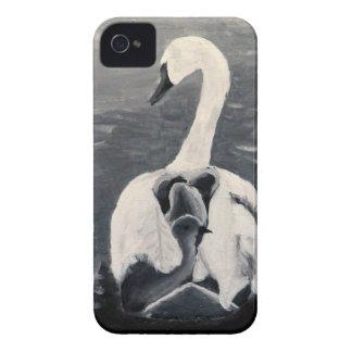 SWANS FAMLIY iPhone 4 Case-Mate CASES