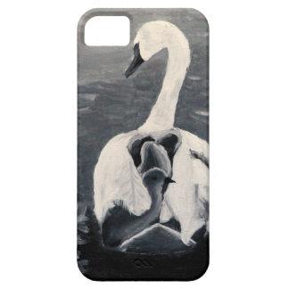 SWANS FAMLIY iPhone SE/5/5s CASE