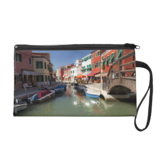 Swans in canal, Burano Island, Venice, Italy 2 Wristlet