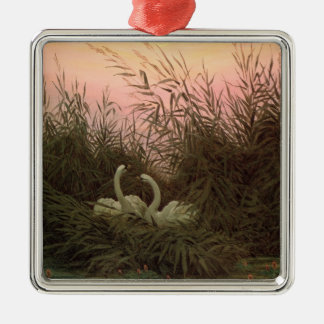 Swans in the Reeds, c.1820 Metal Ornament
