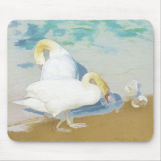 SWANS MOUSE PAD