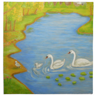 Swans Napkin