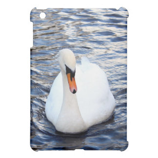 Swans on water iPad mini cases