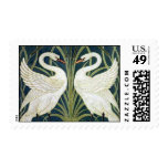 Swans Postage Stamp