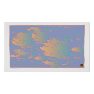 Swans-Print