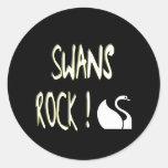 Swans Rock! Sticker