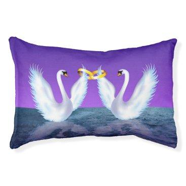 Wedding Themed Swan's Wedding Pet Bed