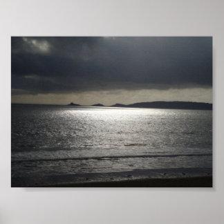 Swansea Beach Poster