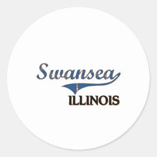 Swansea Illinois City Classic Stickers