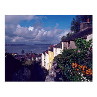 Swansea los refunfuños carril del pueblo circa postales