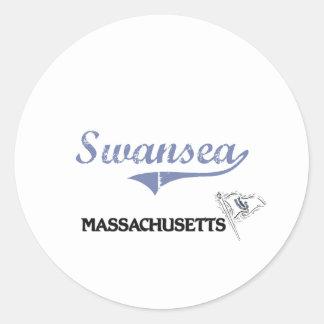 Swansea Massachusetts City Classic Sticker