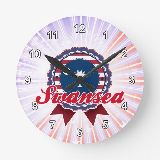 Swansea, SC Round Wall Clock