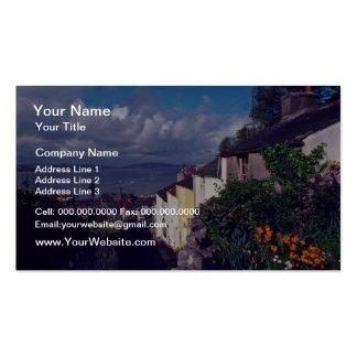 Swansea, The Mumbles, Village Lane (Circa 1580) fl Business Card