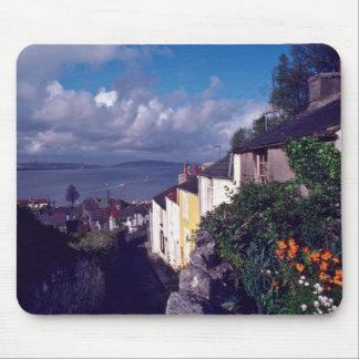 Swansea, The Mumbles, Village Lane (Circa 1580) fl Mouse Pad