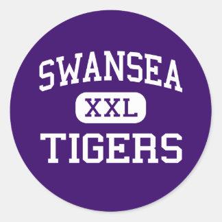 Swansea - Tigers - High - Swansea South Carolina Sticker
