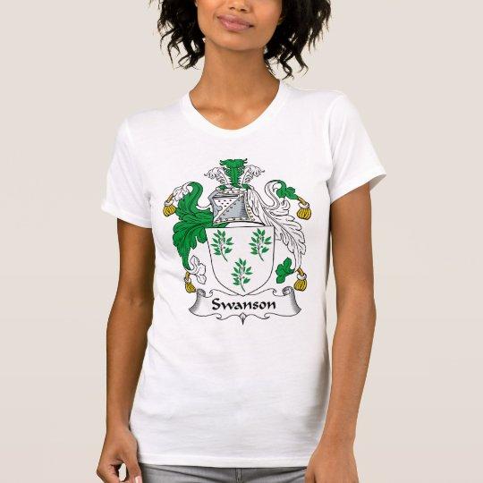 Swanson Family Crest T-Shirt