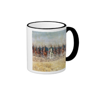Swansong of the Hussars, 1931 Ringer Coffee Mug