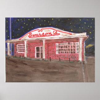 Swanson's Restaurant Poster