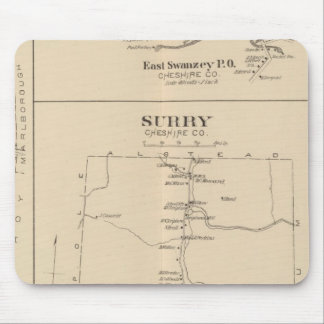 Swanzey, Surry, Hinsdale, W Swanzey PO Mouse Pad