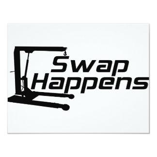 Swap Happens Card