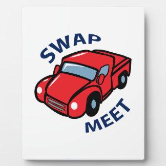 Swap Meet Photo Plaque