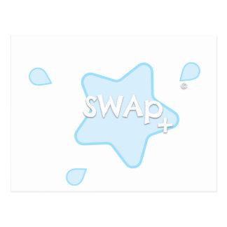 SWAp+ Postcard