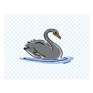 Swarbee Swan Postcard