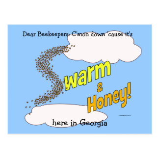 Swarm Honey - Postcards customizable