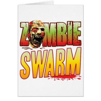 Swarm Zombie Head Card