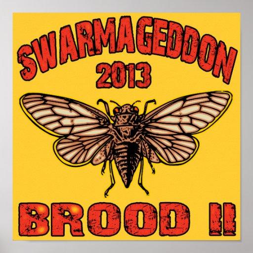 Swarmageddon 2013 Brood 2 Poster