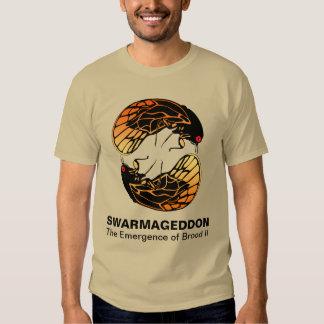 Swarmageddon - Cicadas Emergence of Brood II T-shirts