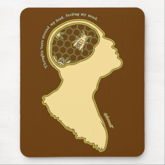 Swarming ideas mouse pad