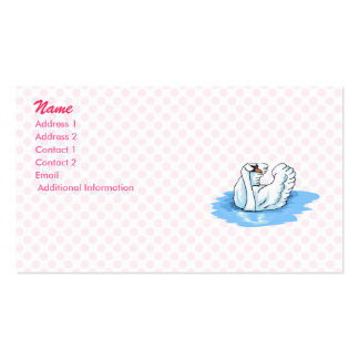 Swarold Swan Business Card
