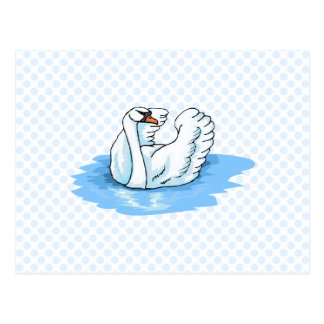 Swarold Swan Postcard