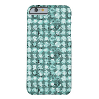 Swarovski and tiffany in teal turquoise barely there iPhone 6 case