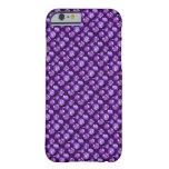 Swarovski en púrpura violeta Amethyst Funda De iPhone 6 Barely There