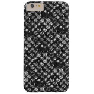 Swarovski in black grey barely there iPhone 6 plus case