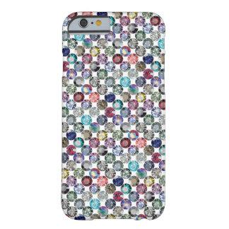 Swarovski in multicolour rainbow barely there iPhone 6 case