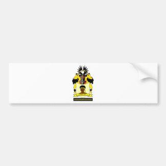 Swarte Coats of Arms Netherlands Europe Car Bumper Sticker
