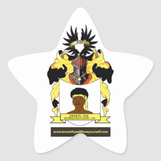 Swarte Coats of Arms Netherlands Europe Stickers